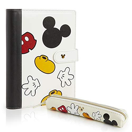 Disney Kit caja plastilina Mickey con 4 botes de 114 g accesorios y tapete Colorbaby 77180
