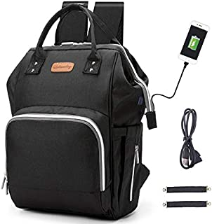 Diaper Bag Backpack, hopopower