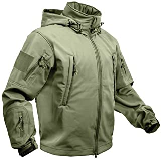 ROTHCO SPECIAL OPS TACTICAL SOFTSHELL JACKET - OLIVE DRAB - M