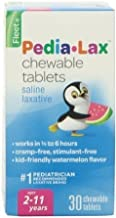 Pedia-Lax Children's Chewable Magnesium Hydroxide Laxative Tablets, Watermelon Flavor, 30-Count Boxes (2 Pack) by Pedia-Lax