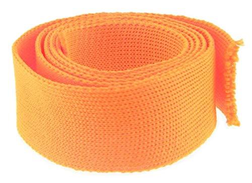 PSYWORK 1lfm Schwarzlicht Textil-Band Orange, 25mm