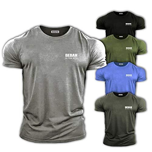 Herren Henley Beil/äufig Kurzarm T-Shirt Single Taste Knopfleiste Einfacher V-Ausschnitt Hemden Baumwolle