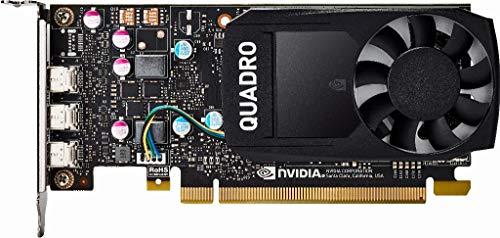 HP GRAFIKKARTE NVIDIA Quadro P4002GB–Grafikkarten (2GB, GDDR5Speicher, 64Bit, 5120x 2880Pixel, PCI Express 3.0)
