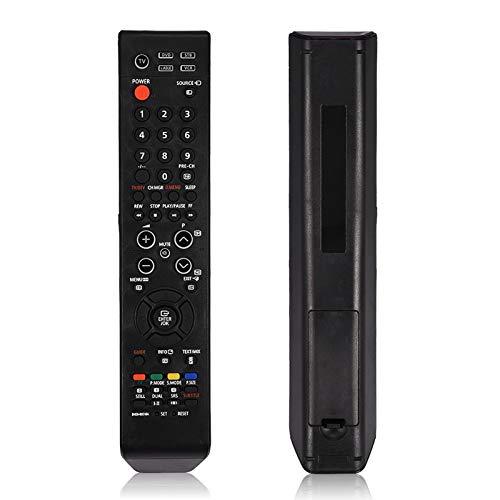 DERCLIVE Mando a distancia de TV ABS duradero universal de repuesto para Samsung TV fácil de usar