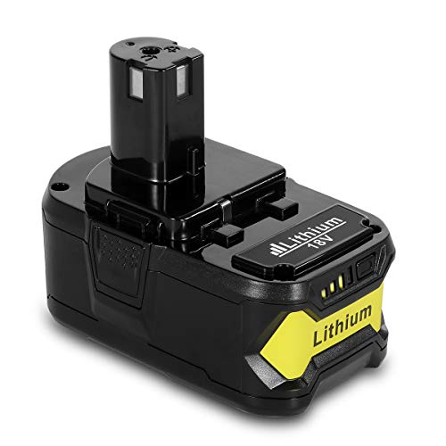 Power-Ing 18V 5500mAh Lithium Ion Replacement Battery for Ryobi ONE Plus P102 P108 P105 P104 P107 P507 P103 P122 P109 RB18L40 ONE+ 18 Volt 5.5AH Cordless Drill Power Tools Batteries Pack Parts