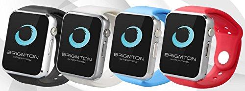 Smartwatch BRIGMTON BWATCH-BT4B 1.54' 128MB 0.3Mpx bluetooth blanco