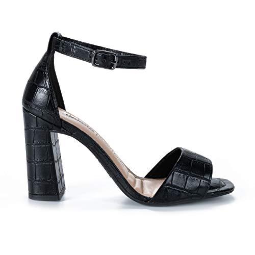 Sandália Dakota Salto Bloco Feminino Preto 36