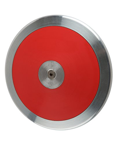 First Place 1k Discus Throwing Disc Rim Weight 1kg Red