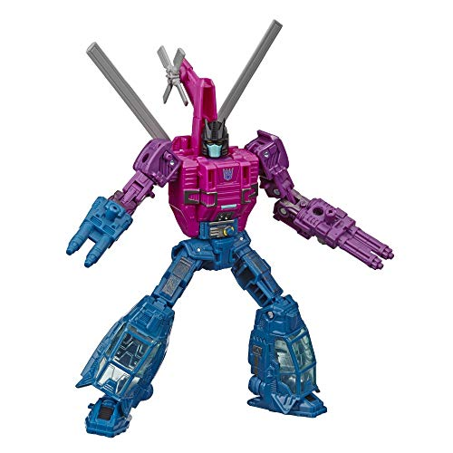 Transformers Toys Generations War for Cybertron Deluxe Wfc-S48 Spinister Figure - Siege Chapter - Adults & Kids Ages 8 & Up, 5