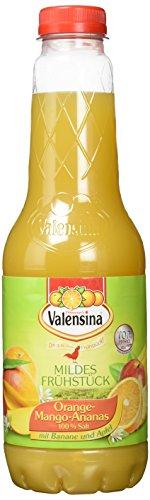Valensina Orange Mango Ananas 100% Saft, 6er Pack (6 x 1 Liter)