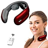Neck Massager,Hunnay Intelligent Neck Massager with Heat,Cordless Neck Relax with 3 Modes and 15 speeds, Deep Tissue Massage Electric for Office,Outdoor,Home,Car,Gifts for Women,Man