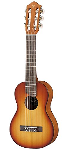 Yamaha GL-1 TBS Guitalele braun sunburst – Perfekter Hybrid aus Gitarre und Ukulele – Kleine 1/8 Reisegitarre aus Holz inkl. Gigbag