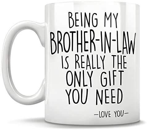 Brother-in-law Mug, brother-in-law, funny brother in law,brother of the groom, brother in law christmas,birthday,christmas,Coffee Mug 11oz