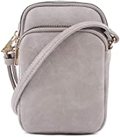 MALI+LILI, Women's Josie Stylish Lightweight Triple Compartment Cellphone Crossbody Bag