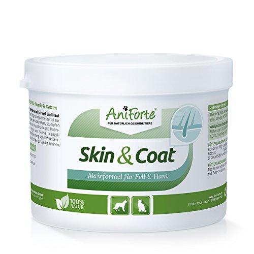 AniForte Skin & Coat Aktivformel für Fell und Haut 250g - Naturprodukt für Hunde und Katzen