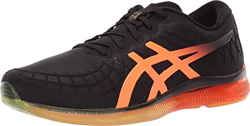 ASICS Men's Gel-Quantum Infinity Shoes, 10M, Black/Shocking Orange