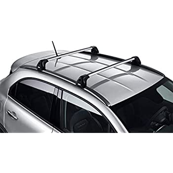 Fiat Barre Portatutto Trasversali Originali 500X: Amazon.it: Auto