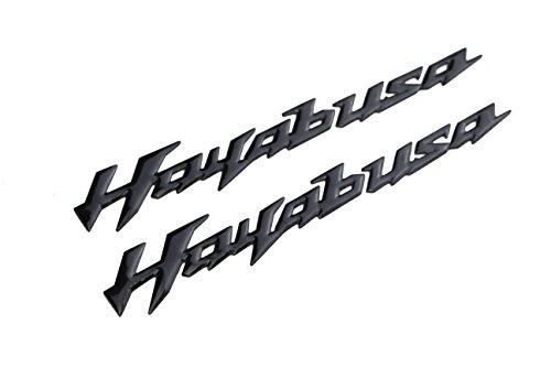 PRO-KODASKIN Motorcycle 3D Raise Emblem Sticker Decal for Suzuki Hayabusa GSXR1300 (Black)