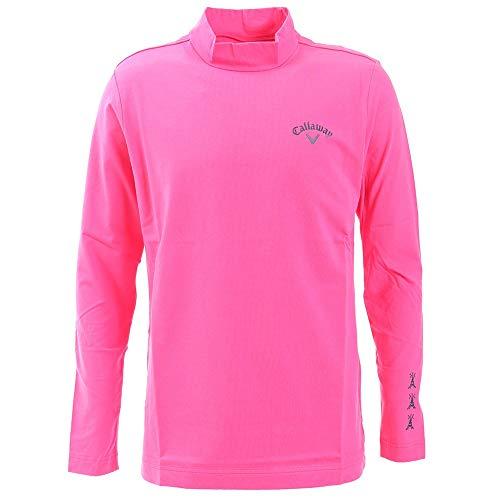[キャロウェイ] [メンズ] 発熱 ハイネックシャツ (ストレッチ) / 241-8254502 / ゴルフ インナー 090_ピンク 日本 L (日本サイズL相当)