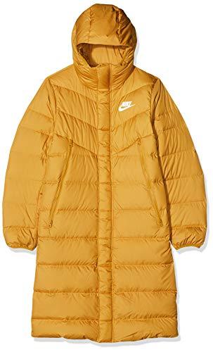 Nike M NSW DWN Fill WR PRKA HD Parka, Hombre, Gold Suede/Gold Suede/Gold Suede/Sail, XL