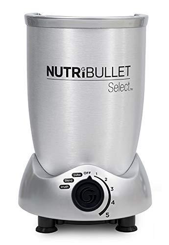 NutriBullet-Smoothie-Maker-mit-Rezeptheft-in-spanischer-Sprache-silber