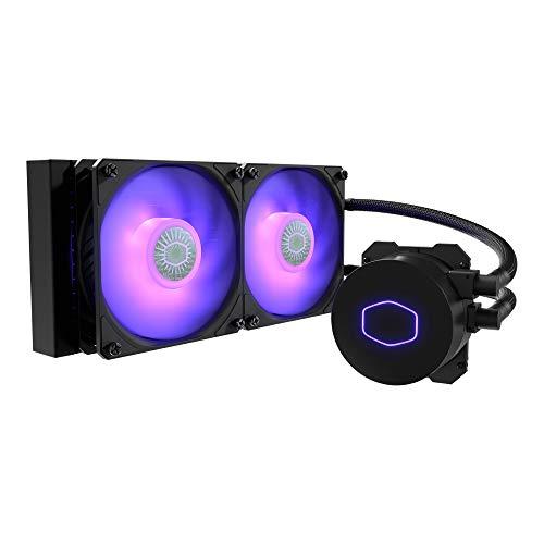 Cooler Master MasterLiquid ML240L RGB V2, Close-Loop AIO CPU...