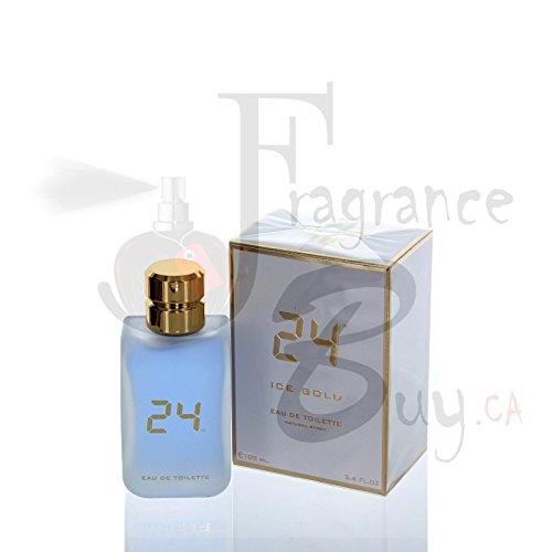 24 Ice Gold by ScentStory Eau De Toilette Spray 3.4 oz / 100 ml (Men)