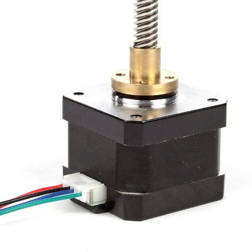 SainSmart SS-109 NEMA 17 Trapezgewinde 300 mm Schrittmotor M8 Z-Achse für 3D-Drucker CNC RepRap