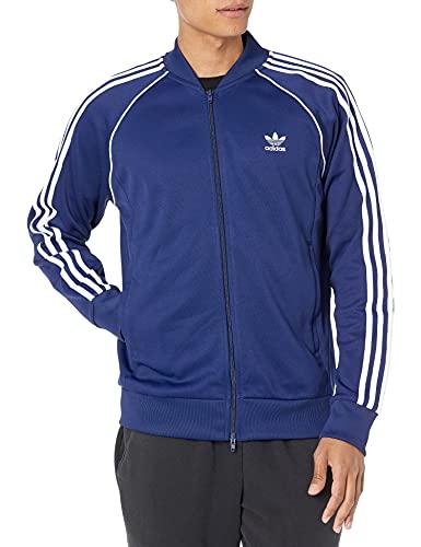 adidas Originals Adicolor Classics Primeblue Superstar - Chaqueta deportiva para hombre - azul - Medium