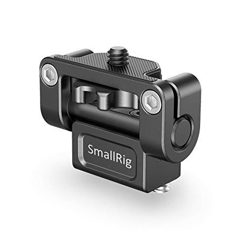 SMALLRIG Monitor Halterung Monitor Mount für Kamerafeldmonitor, Monitorhalterung Titel bis 180 ° - 1842