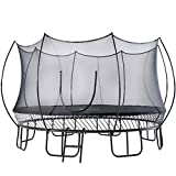 free jump trampoline 15ft Trampoline for Kids & Adults with Safety Enclosure,Patented Springless Quick-Easy Assembly Design,Ladder Included 2020 Upgraded Version