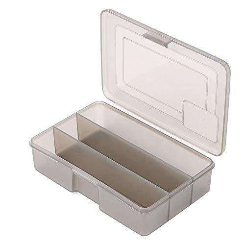 VGEBY1 Caja de señuelos, Caja de Almacenamiento de Aparejos de Pesca con 3 Rejillas Accesorios de Pesca Cajas Contenedores de Almacenamiento