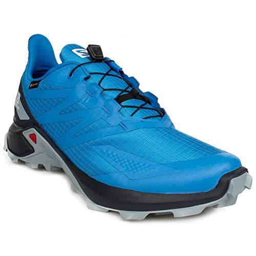SALOMON Calzado Bajo Supercross Blast GTX, Zapatillas de Trail Running Hombre, Indigo, 44 EU