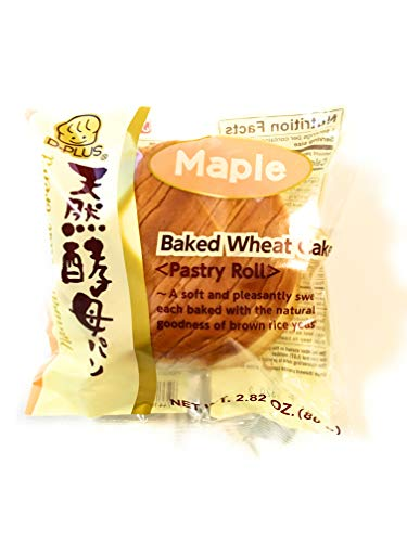 D-Plus Baked Wheat Cake ( Maple)5 Pack-2.82 Oz Each