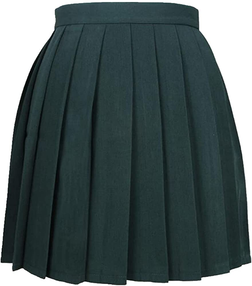 NP Kawaii Campus Women's Uniforms Skirt for Women Students Waist Pleated Skirts