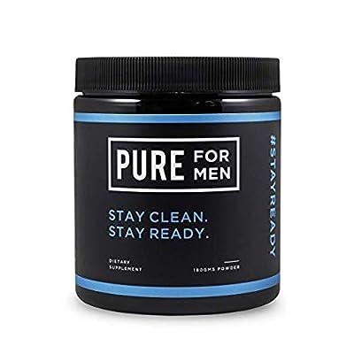 Pure for Men - The Original Vegan Cleanliness Fibre Supplement, Non-Capsule (Powder) - Proven Proprietary Formula