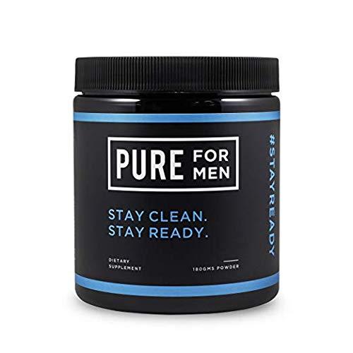 Pure for Men - El suplemento original de fibra de limpieza vegana, sin...