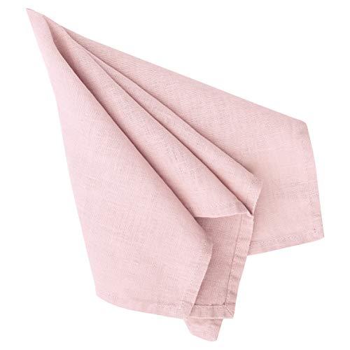 GreenGate - Leinenserviette - Pale Pink - 40 x 40 cm