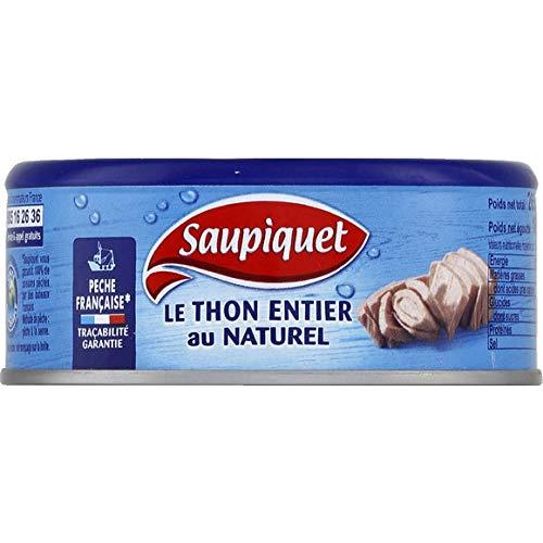 Saupiquet - Thon Au Naturel Pêche Française -...