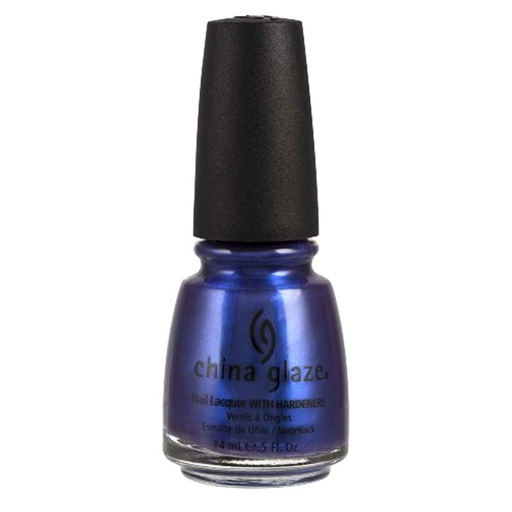 ジャーナリスト話す(6 Pack) CHINA GLAZE Nail Lacquer with Nail Hardner - Tempest (並行輸入品)