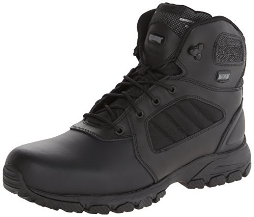 Magnum Men's Response III 6.0 Slip Resistant Work Boot,Black,10.5 M US