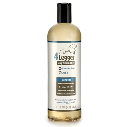 4Legger Dog Shampoo with natural ingredients
