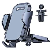 Ultra Stable Car Phone Holder Mount, VICSEED NEWEST CD Slot & Air Vent Universal Cell Phone Holder for Car, Fit for iPhone 12 11 Pro Max SE Xs Xr X 9 8 7 Plus, Galaxy Note 20 S20+ S10+ All Smart Phone