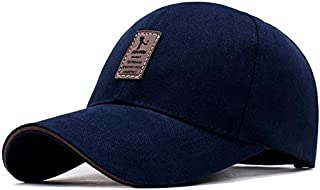 TyranT Unisex Cotton Baseball Hat(Navy Blue, Free Size)