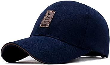 TyranT Cotton Baseball Adjustable EDIKO Caps for Men/Women Unisex Baseball Hat | Black