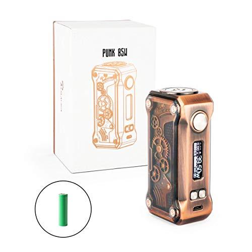 Tesla Punk 85W Mod Box 85 Watt Akkuträger + 3000mAh Akku E-Zigarette (Produkt enthält kein Nikotin) (kupfer)