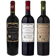 Doppio Passo Set Doppio Passo Riserva 14% vol, Salento 13% vol. und Puglia Bio 13% vol. (3 x 0.75 l)