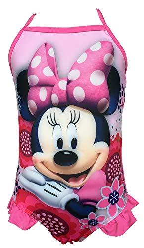 Minnie Maus Badeanzug rosa für Mädchen (Variante 1, 7 Jahre)