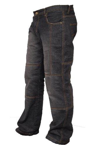 Newfacelook motorradhose Rüstungen motorrad Hose Jeans Kommt mit Aramid verstärkt Schutzauskleidung W36-L34