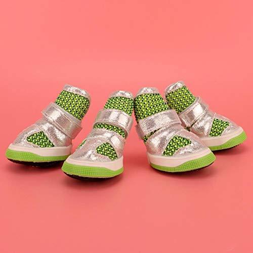 FOLOSAFENAR Zapatos Antideslizantes, Sandalias, Diseño de Moda Ajustable en tamaño(Number 3)